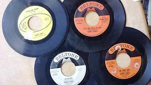 R-amp-B-BLUES-LOT-BOBBY-LEWIS-4-45s-Tossin-039-amp-Turnin-039-Cry-No-More-Are-You-Ready