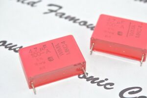 2pcs-WIMA-MKC4-4-7uF-4-7-F-100V-Pitch-27-5mm-5-Polycarbonat-Kondensator