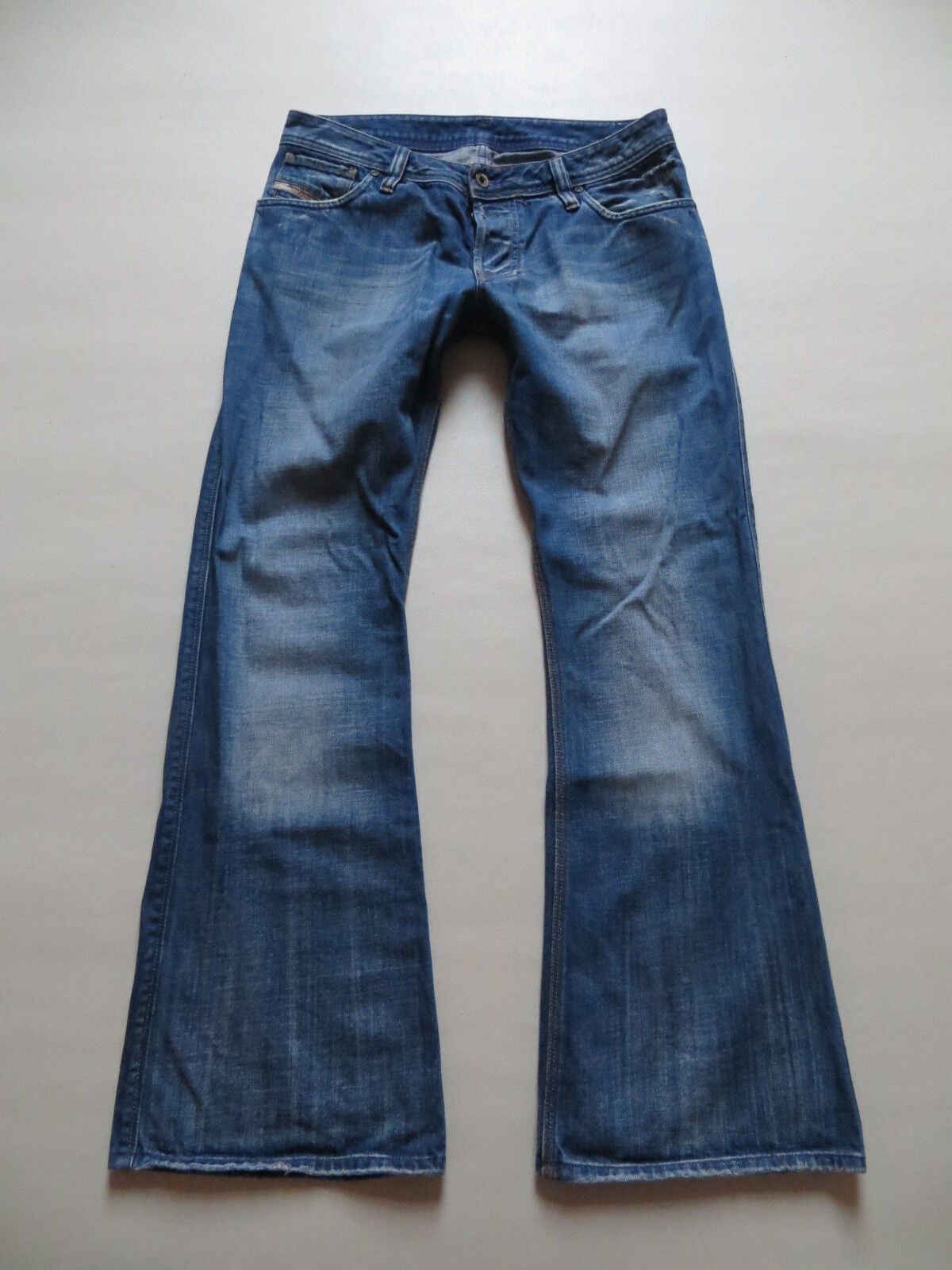 Diesel ZAF wash 00796 Schlag Jeans Hose, W 33  L 32, Vintage Denim, RARITÄT   50