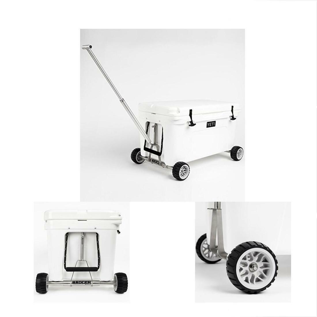 Wheels Cart Yeti Tundra 35-160 Coolers 2-Two Axles W Handle Marine-grade Durable