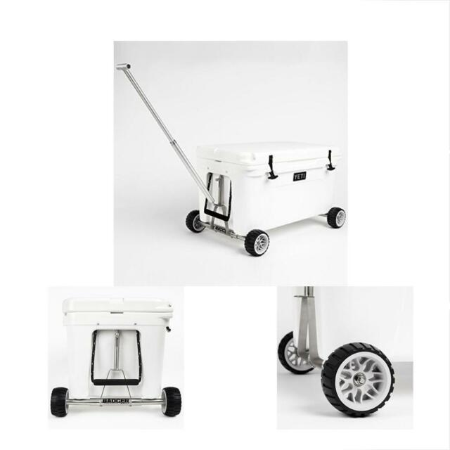 Wheels Cart Yeti Tundra 35-160 Coolers 2-Two Axles W/Handle Marine-grade  Durable