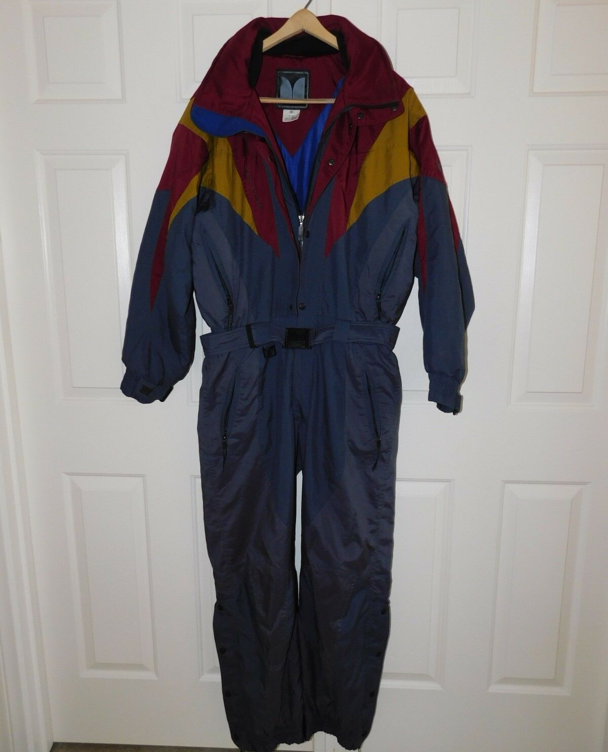 COULOIR SKI SNOW SUIT Multi color Insulated High Quality One Piece Men's 42 M L