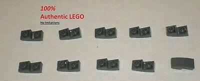 10x 4243831 Brick 3031 LEGO NEW 4x4 Dark Stone Grey Plate