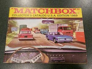 Matchbox 1969 USA Catalog Catalogue