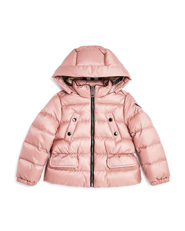 NOUVEAU 375 $ Veste à capuche en duvet Bronwyn pour filles Burberry, taille 14Y / 164cm