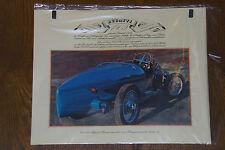 Bugatti  -- 1909 -- Poster - Plakat - Farbe -- 33 x 41 cm