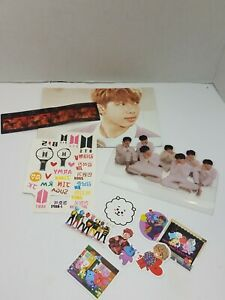 Bts Fan Lot Kpop Boy Band One & Only Army Stickers Pictures Posters Paper Tattoo   eBay