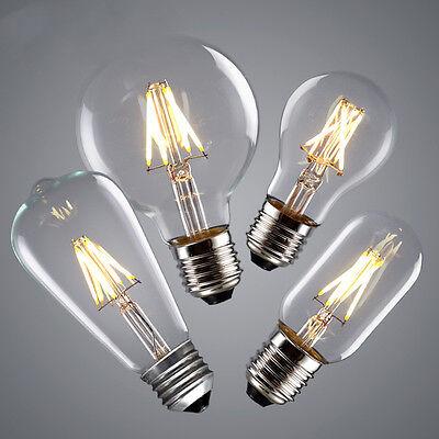 Vintage 220V-240V LED Edison Bulb E27 E14 2W 4W 6W 8W LED Filament Light Bulb
