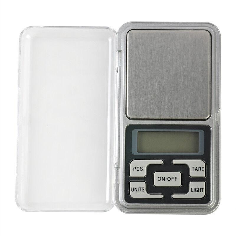 Pocket Digital Gram Scale Jewelry Weight Electronic Balance Scale 500g x 0.01g 12