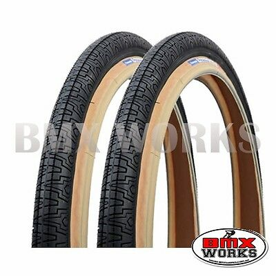 """Panaracer HP406 Black 20/"""" X 1.75/"""" Freestyle BMX Tyres Sold In Pairs"""