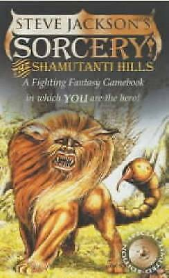 1 of 1 - Sorcery! 1: The Shamutanti Hills (Fighting Fantasy Gamebook 9), Good Condition B