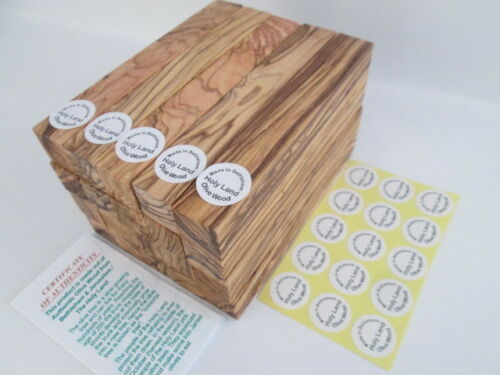 """Bethlehem Olive Wood Pen Turning Blanks /""""Premium Qly/"""" Possible shipping from USA"""