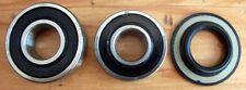 Roulement SKF 2RS 6202 & 6203 + Joint Spi (Ancien modèlè) SOLEX 3800 5000