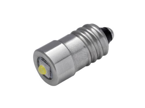 Repuesto LINTERNA-ledschraubsockel e101-3 voltios 3 vatiostorchled 10-hplv