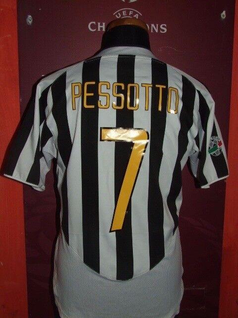 PESSOTTO JUVENTUS 2003 2004 MAGLIA SHIRT CALCIO FOOTBALL MAILLOT JERSEY CAMISETA