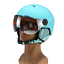 Details about  /Winter Ski Snowboard Helmet with Visor Goggles Sports Mask Safety Wind//Snowproof