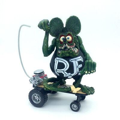 Rat Fink Big Daddy Ed Roth Sidewalk Surfer Skateboard Custom Action Figure