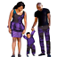 thumbnail 21 - Traditional African Family Clothing Matching Father Mother Son Baby Sets V11590