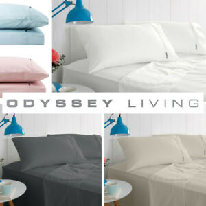 New-ODYSSEY-1000TC-Thread-Count-Luxury-Sheet-Sets-5-Colours-All-Sizes