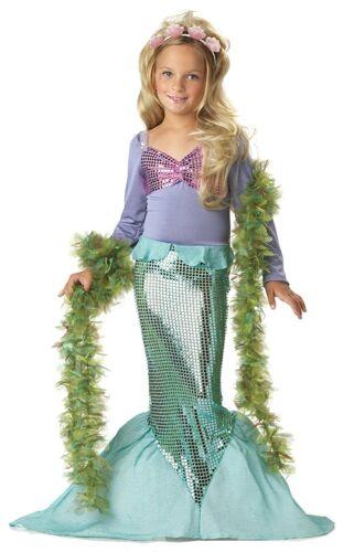 Lil Mermaid 00015 98//104 110//116 Meerjungfrau Kostüm Kind