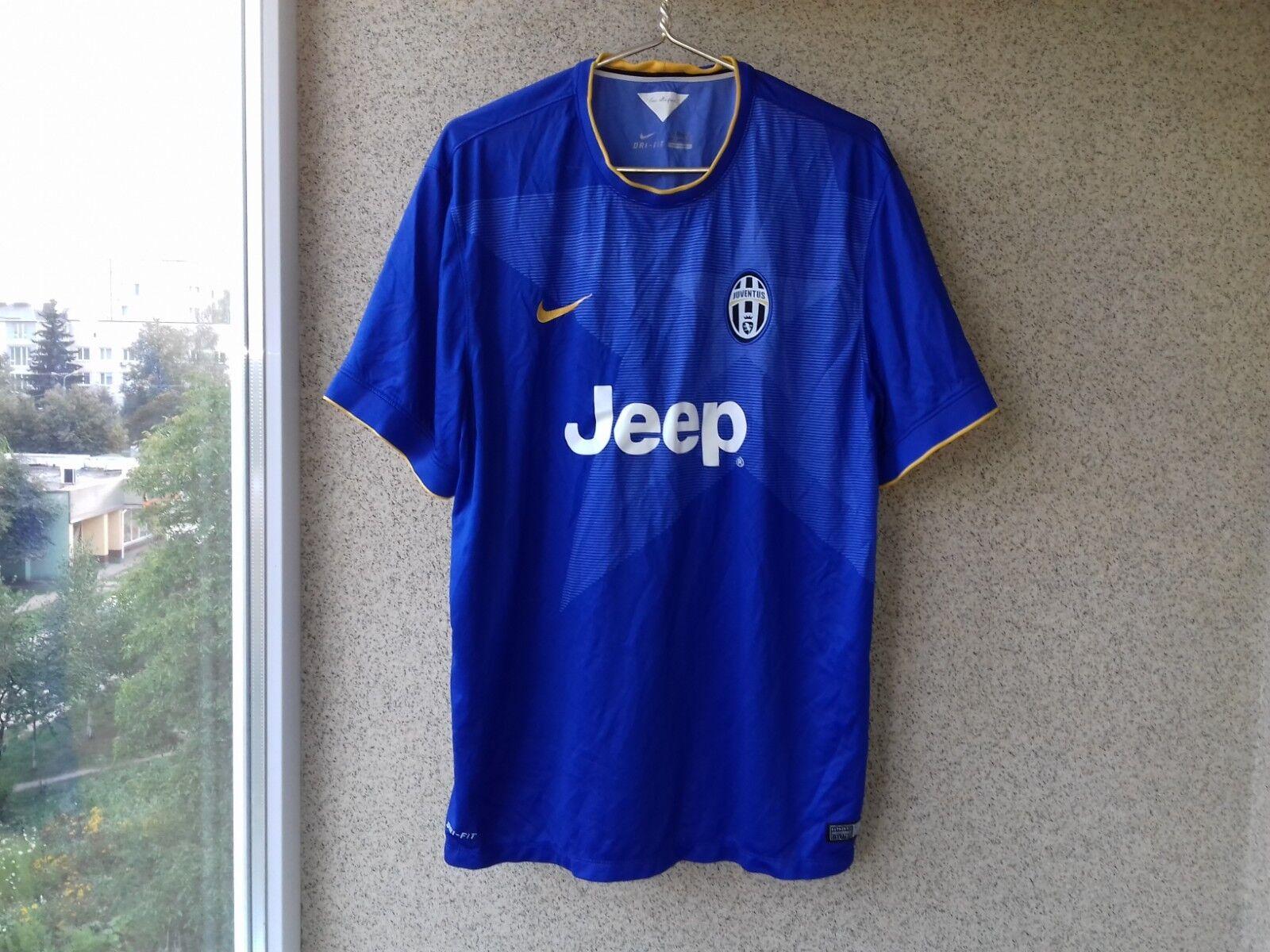 Juventus Away football shirt 2014 2015 JERSEY 2XL NIKE SOCCER CAMISETA ITALY