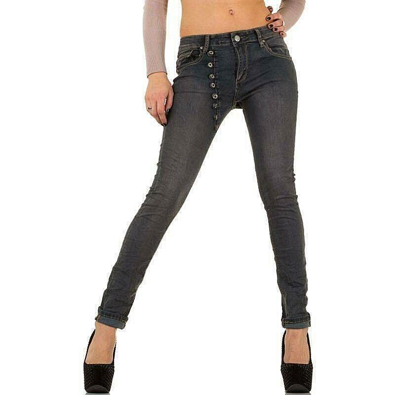 MOZZAAR Jeans  Style Boyfriend  grey    Gr. M