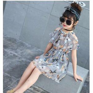 filles-mousseline-de-soie-imprime-papillon-robe-taille-elastique-3-ans-10