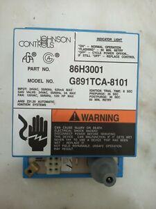 Johnson Controls 86H3001 G891TCA-8101 Furnace Ignition Control Module