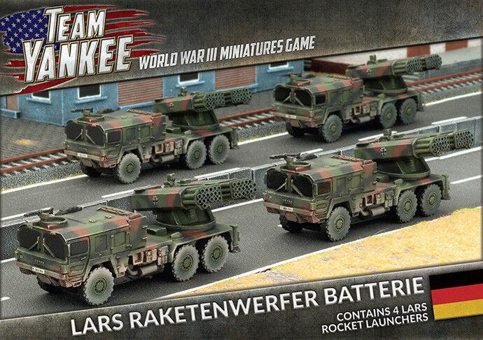 Raketenwerfer Batterie (x4 LARS) Battlefront Miniatures