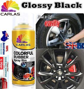 4x-Gloosy-Black-Removable-Rubber-Paint-Plasti-Dip-Wheel-Rim-Spray-Rubber-Paint