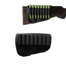 Tourbon Cartridge Holder Ammo Storage Rifle ButtStock 8 Bullets Hunting Neoprene
