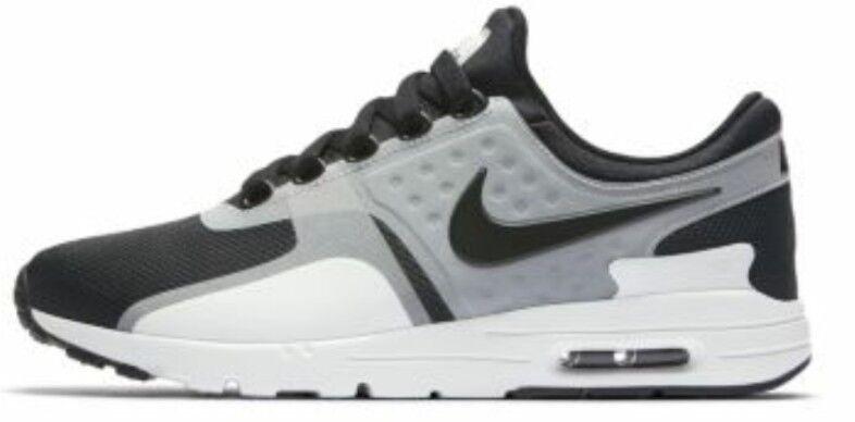 Nike Wmns Air Max cero 0 blanco y negro negro y bnib 857661 102 señoras formadores marca de descuento 39a67f