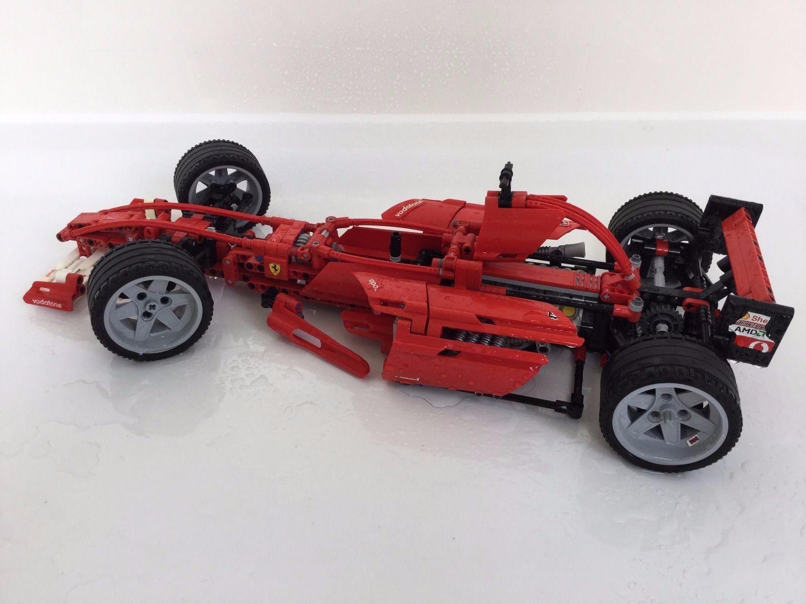 L'ORIGINAL  Lego Racers Ferrari f1 RACER 110 (Model 8386)