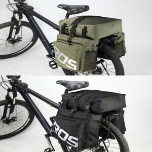 ROSWHEEL-3-in-1-Road-MTB-Mountain-Bike-Bag-Bicycle-Pannier-Rear-Seat-Trunk-Bag