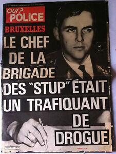 QUI-Police-31-01-1980-Bruxelles-Le-chef-de-Brigade-des-Stup-Trafiquant-de-Dro