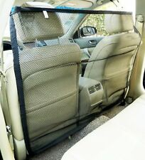"Zone Tech Vehicle Car Travel Pet Dog Car Back Seat Net Mesh Barrier 47x34"""