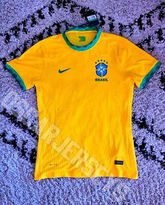 Maillot Jersey équipe du Brésil national 2021 Nike Vaporknit Player Brazil