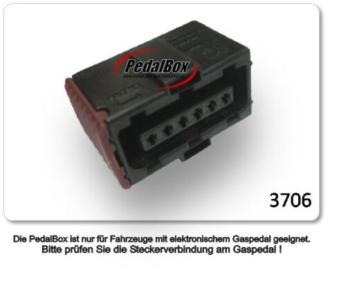 DTE pedalbox 3 S Pour Fiat Panda 312 51 Kw 02 2012-1.2 Tuning gaspedalbox puce