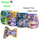 1PCS Happy Flute Newboen Cloth Diaper Cover Reusable Baby Cover Waterproof PUL