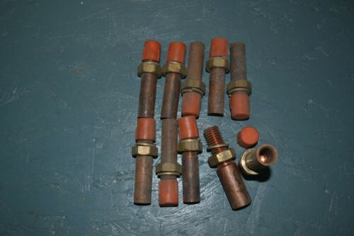 chance 1//0 1 awg 164 crimp stud copper terminal ground free shipp lot of 10 a.b