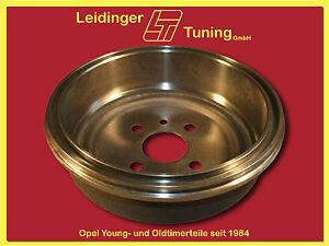 Rekord E   Bremstrommeln, Satz (2 Stück) 230 mm, 1.5-2.4