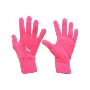 609371d79edd Image is loading Puma-Beetroot-Knitted-Running-Gloves-Medium-Large