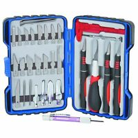 Deluxe Hobby 33 Piece Knife Set Compare To Exacto Etch Knives Blades Kit Carving