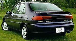Ford Escort Zx2 Custom Style Spoiler 1998 2003 Ebay