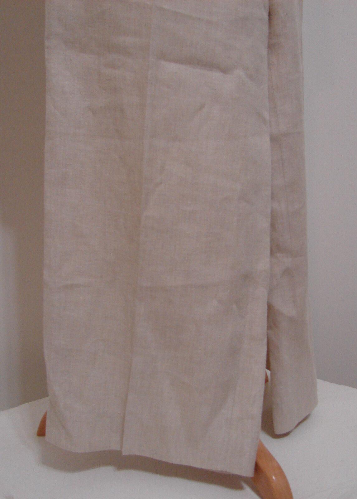 Donna Karan DKNY Pant Suit & Jacket Cream 100% Li… - image 4