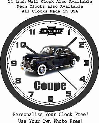 1941 DODGE WC HALF TON PICKUP TRUCK WALL CLOCK-FREE USA SHIP!