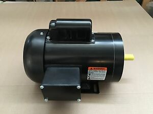 1 Hp Electric Motor 56c 1 Phase Tefc 115 230 Volt 3600