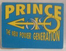 PRINCE - ORIGINAL- CONCERT TOUR CLOTH BACKSTAGE PASS