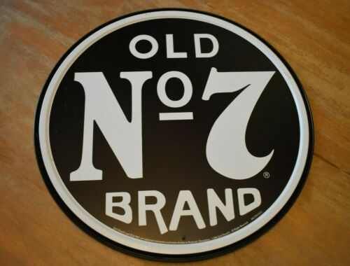 Jack Daniels Old No 7 Whiskey Tin Sign NEW