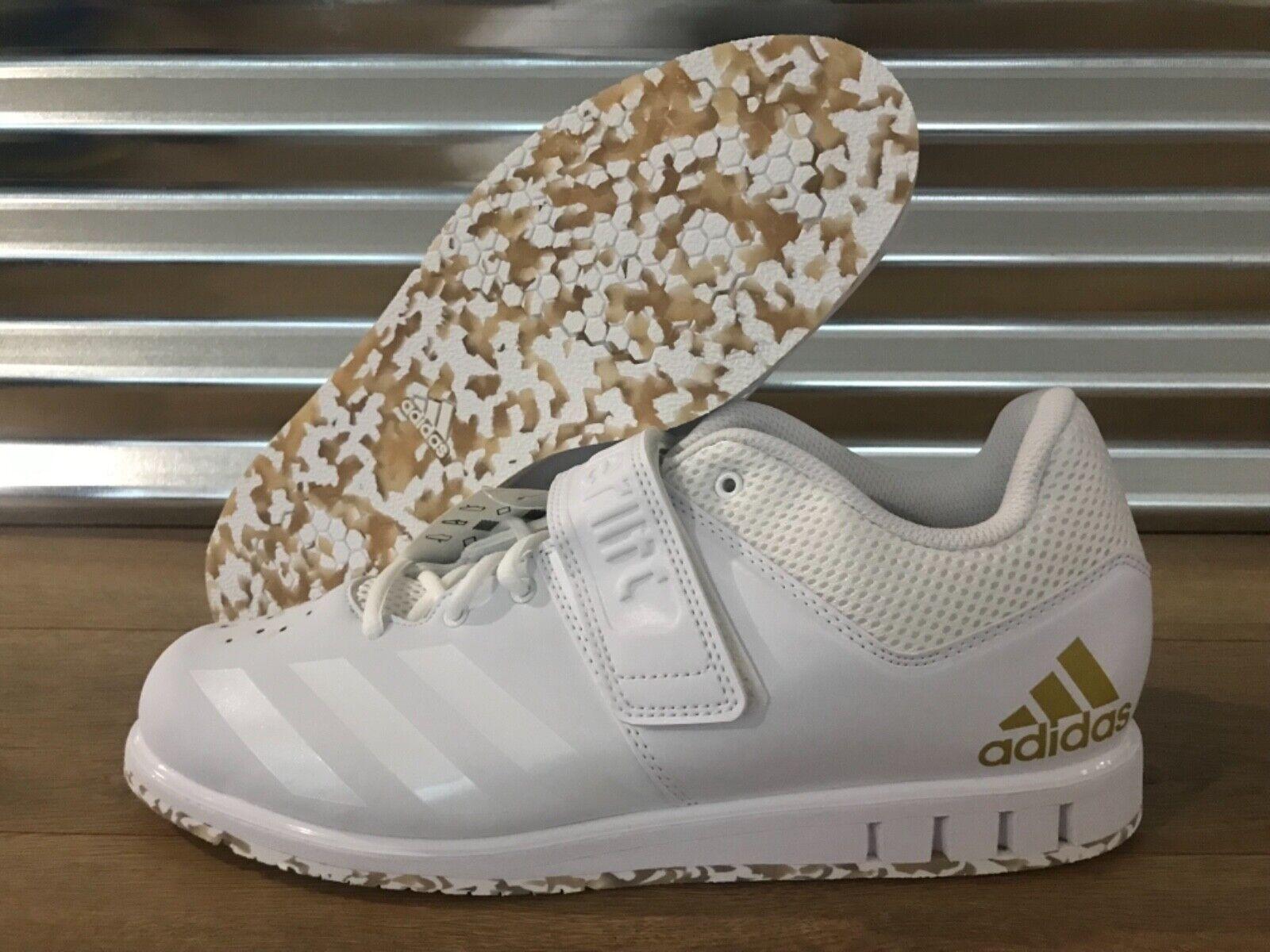 Adidas energialift 3.1 Weightlifting sautope Trainers bianca oro SZ ( AC7467 ) Sautope classeiche da uomo